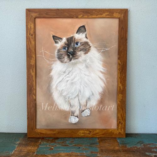 huisdier portret