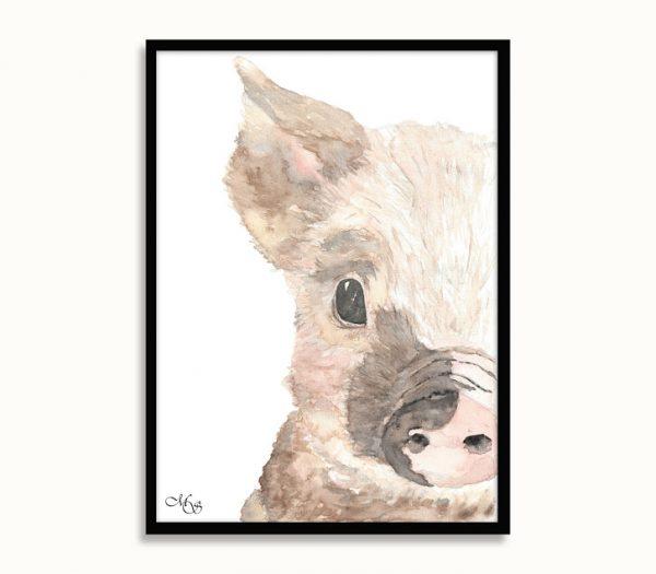 dieren-poster-viggo-het-varken