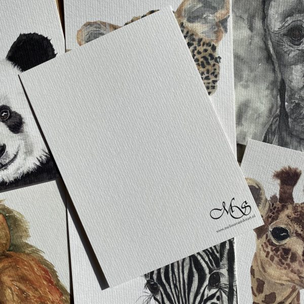 jungle dieren kaarten