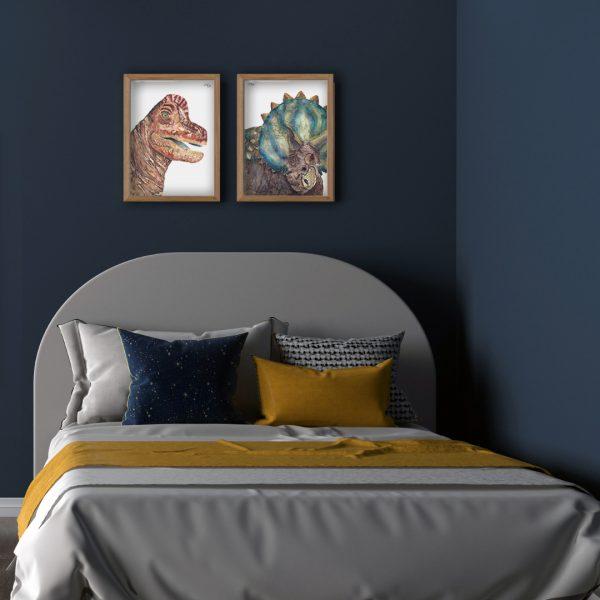 Dinosaurus poster kinderkamer